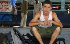 Philip at Haridwar Station