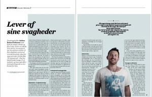 Artikel om Anders Kofoed Pedersen fra Efterskolernes blad